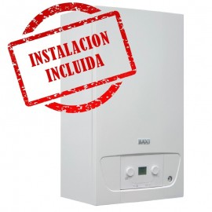 Caldera de Calefacción BAXIROCA VICTORIA CONDENS 24/24F con instalacion incluida