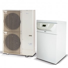 Aerotermia para calefacción BAXI Platinum BC Plus V200 8MR