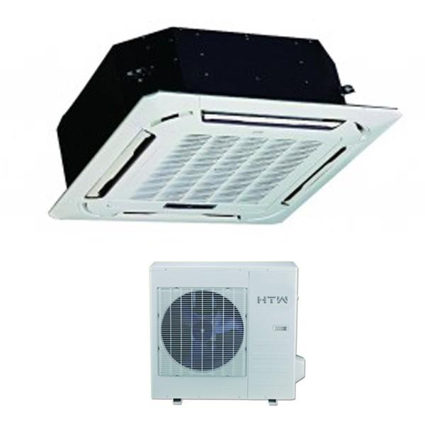 El aire acondicionado cassette ideal para oficinas for Temperatura de salida de aire acondicionado split