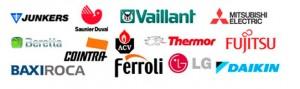 Catálogos y Tarifas de precios de marcas fabricantes climatizacion y calefaccion