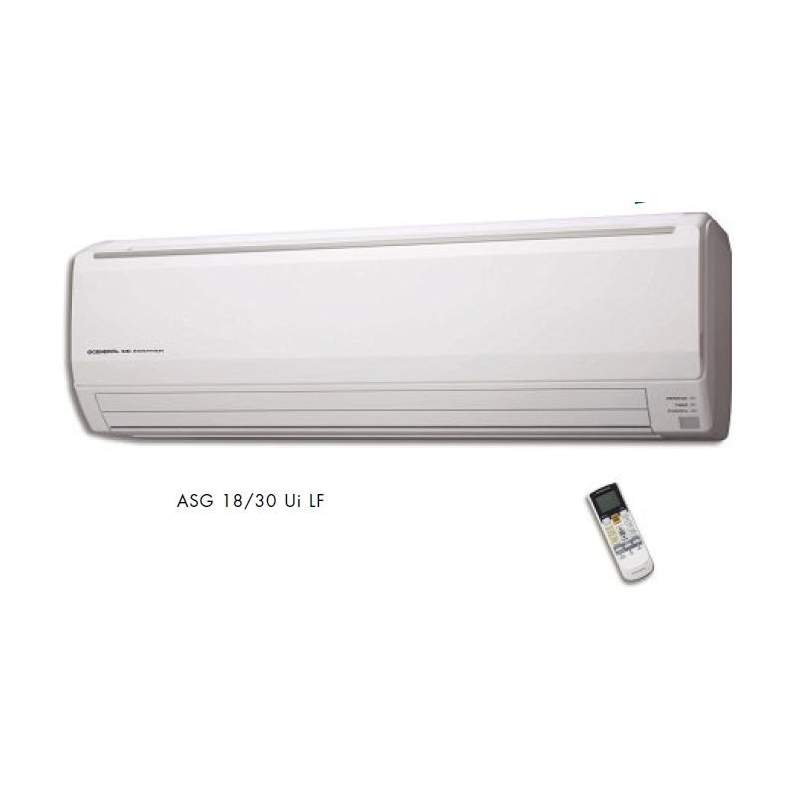 Aire Acondicionado GENERAL FUJITSU ASG 18UI LF, Split Pared 1x1 Inverter