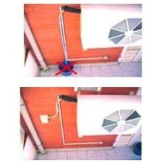 Disipador de agua de la unidad exterior WIGAN