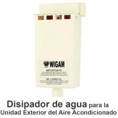 Disipador de agua unidad exterior Aire Acondicionado WIGAN