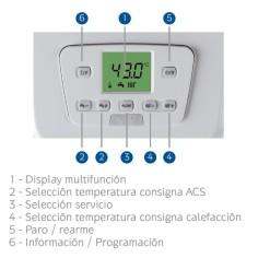 Caldera Mixta Condensacion BAXIROCA NEODENS PLUS 24/24F ECO