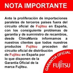 Aire acondicionado Fujitsu ACY140UIA-LH Conductos