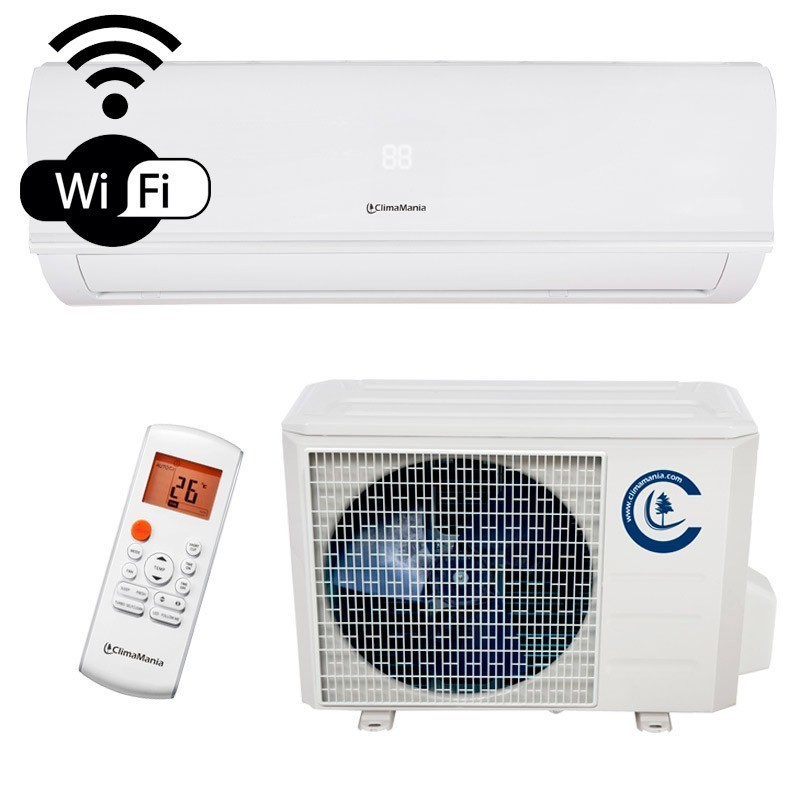 Aire Acondicionado CLS24IM-WIFI, Split Pared 1x1 Inverter