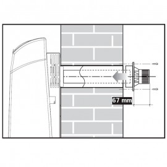 Radiador Mural a Gas KROMSCHROEDER ECO SC 18