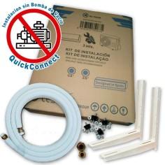 """Kit instalación 1/4""""-3/8"""" de 5 metros QuickConnect para Aire Acondicionado"""