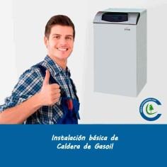 Instalación Básica Caldera Gasoil