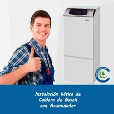 Instalación Básica Caldera Gasoil con Acumulador
