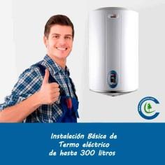 Instalación Básica Termo Eléctrico hasta 300 litros