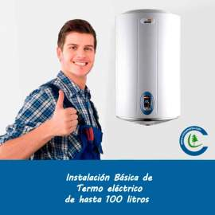 Instalación Básica Termo Eléctrico hasta 100 litros