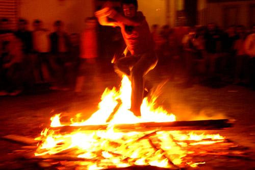 El Verano y San Juan, las hogueras