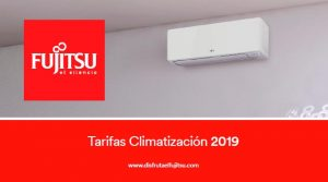 tarifa aire acondicionado Fujitsu