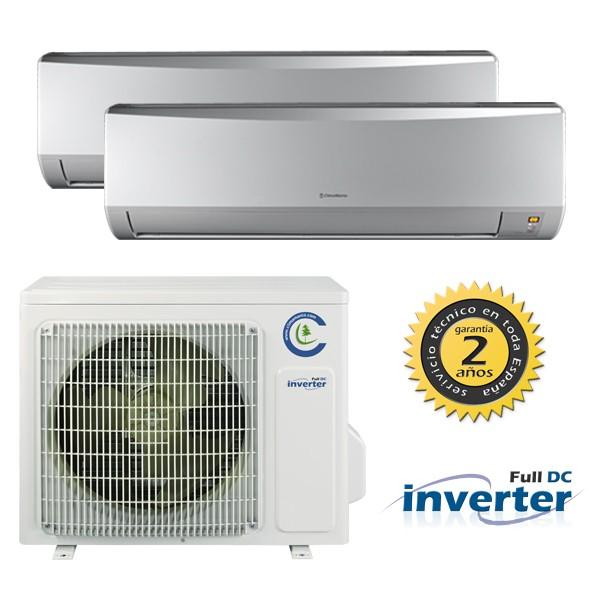 climatización con aire acondicionado multisplit